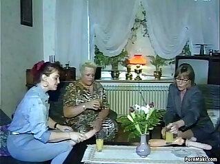 6:51 - Hardcore groupsex with grannies -
