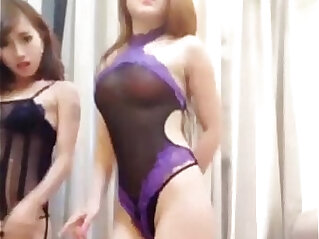 1:54 - Chinese camgirls dance -