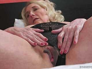 6:00 - Horny Granny And Her Younger Lover -