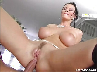 36:16 - Ass Traffic huge big tits fucked and double penetrated -