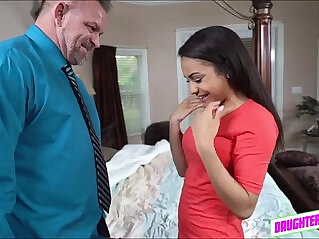 6:52 - Lovely teen Nicole hooks up with her friends stepdad for sex -