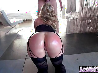 7:32 - Big Ass Wet Oiled big ass Girl AJ Applegate Get Nailed Deep In Her Behind clip -