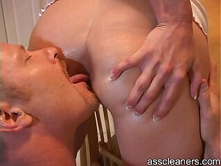 2:22 - Man is demanded by mistress to lick her ass hole -