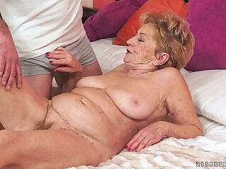 6:44 - Kinky old granny loves dick -