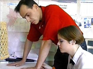 36:08 - French teen teacher -