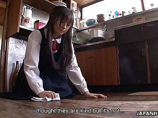 1:27 - Asian housekeeper gets anally fucked and creamed by the fellas -