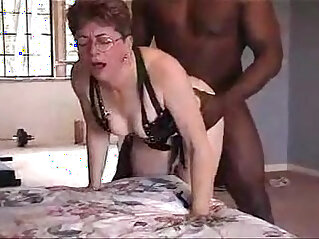 4:15 - Lovely grandma from gets cunt fucked by black friend -