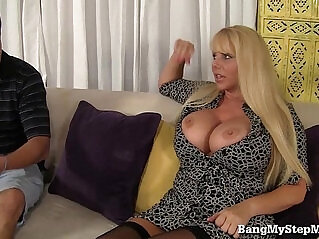 7:34 - Voluptuous MILF Has Sex With Step son! -