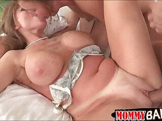 6:18 - Busty stepmom Darla Crane ass fucked horny guy and GF -