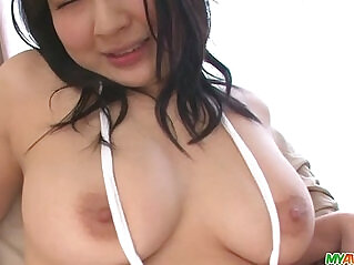 8:08 - Busty Megumi gets help with girls masturbating -