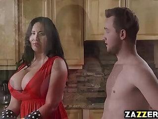 8:05 - Hot milf Sybil Stallone suck Van Wylde deep in her throat -