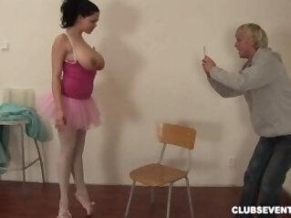 7:18 - Huge breasted ballerina fucking hard -