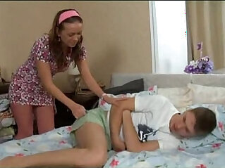 18:01 - Russian Brother Fucks Horny Sister -