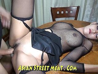 10:23 - Skank Asian Wenchith Wobbly Tits -