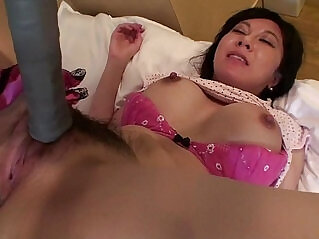 5:05 - Uncensored Japanese milf with tennis racket Subtitled -