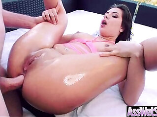 6:24 - Anal fucked Hard Sex Tape for money With huge Butt Oiled big butt naughty Girl jynx maze 18 -