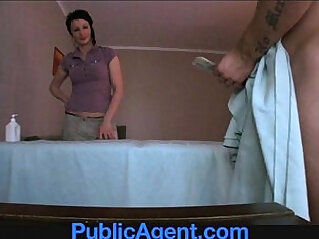 12:32 - PublicAgent Fucking the Masseur MILF -