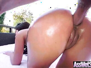 6:27 - Hot Ass Girl Get Her Huge Behind Oiled And Deep anal Nailed video 18 -