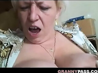 8:06 - Busty Granny Share Cock With sexy Teen -