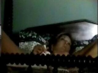 1:04 - Hidden cam caught my mom having orgasm -