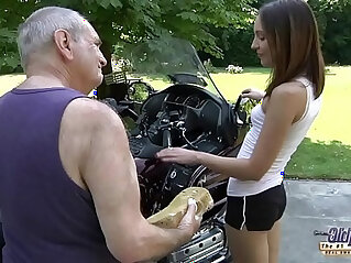 8:02 - OLD YOUNG PORN Grandpa Fucks in Hardcore blowjob young girl fingering her pussy -