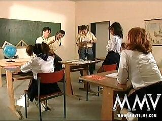 12:13 - MMV Films German class room orgy -