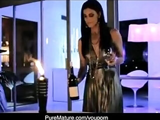10:21 - PureMature Candlelight Anal hardcore With Hot Mom India Summer -