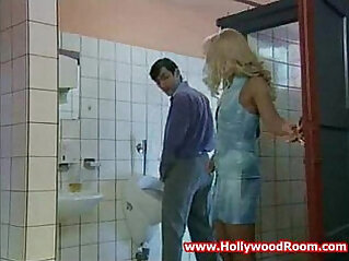 17:20 - Horny Wife Fucks Stranger In Public Toilet -