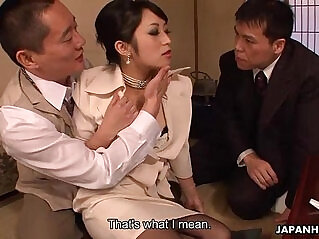 1:53 - Asian bitch Kurosawa getting fucked -