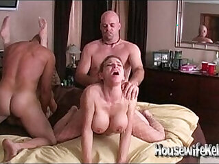 8:27 - Wife swapping with swinging couples -
