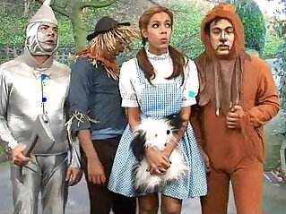 7:24 - Dorothy Ass Bounces With the Witch! -