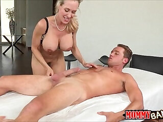 7:02 - MILF threesome on massage table with her stepdaughter -