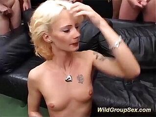 13:35 - german stepmoms first orgy -