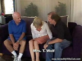 21:39 - Blonde Slut Mrs. Wolf Abused -