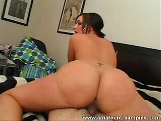 Valerie Amateur redhead Babe with a Nice Ass Creampied Pussy