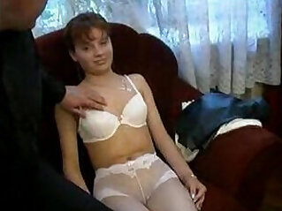 2:14 - Real father taboo dad with his daughter at home -