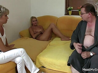 7:22 - He finds her riding his dads cock -