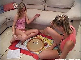 9:07 - Hot busty lesbian Jasmin gets her slit toyed -