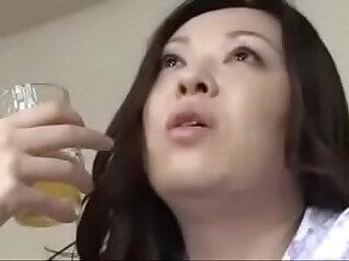 17:07 - Japanese Asian Mom and Son drunken Hard deep anal Fuck -