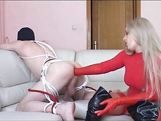 16:41 - Red Latex Gloves Ass Deep Fisting -