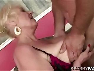 8:21 - Granny Fucks New Yoga Teacher -