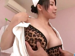 12:58 - Miho Tsujii Asian nurse in need for cock in her pussy -
