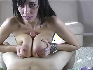 4:35 - Big Titted Brunette sucks and Fucks A Dick -