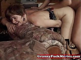 5:16 - Grandma nailed by horny guy -
