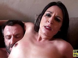 10:32 - British slut with dick -