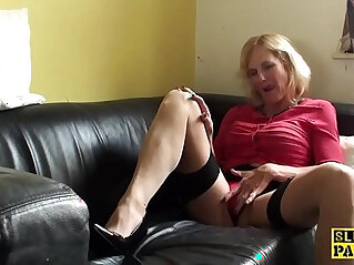 10:51 - Squirting brit granny throatfucked -