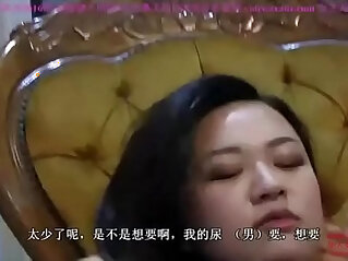 54:27 - Slave serving two Chinese mistresses with his mouth. -