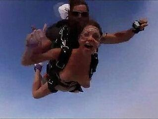 3:08 - Nude Girls Skydiving! -