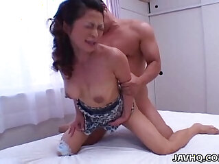 9:15 - Sexy Marie Sugimoto fucked from behind! -