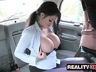 7:38 - Big tits long hair and high heels Candy Sexton -